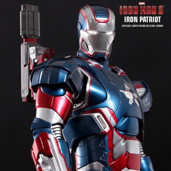 Iron Patriot - Iron Man 3 - Diecast 1/6 Scale Figur