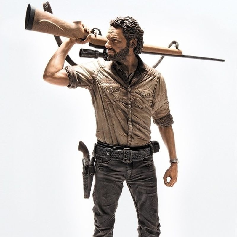 Rick Grimes - The Walking Dead - Deluxe Actionfigur