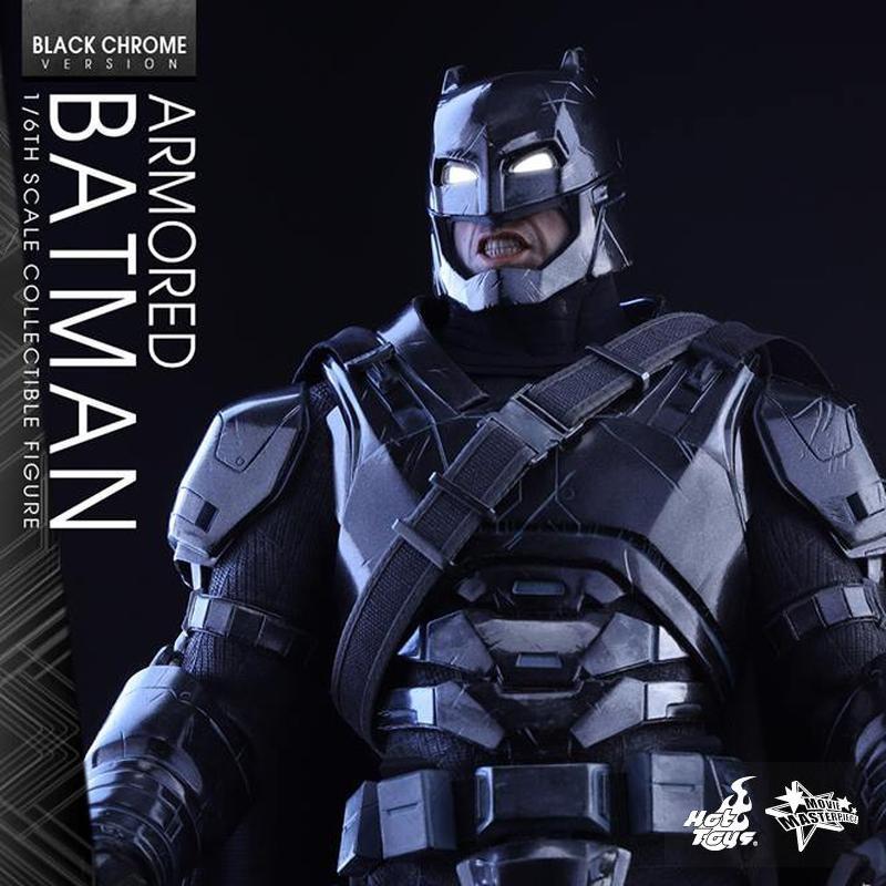 Armored Batman (Black Chrome Version) - Batman v Superman - 1/6 Scale Figur