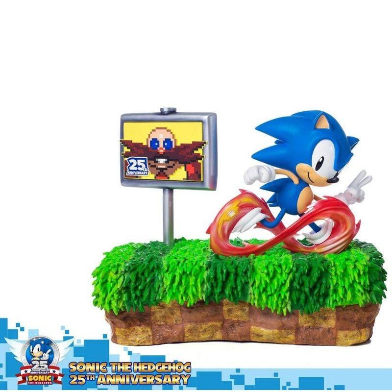25th Anniversary Sonic - Sonic the Hedgehog - Polystone Diorama