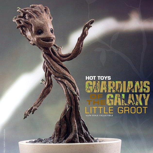Little Groot - 1/4 Scale Collectible Figur