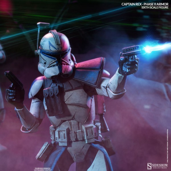 Captain Rex Phase II Armor - Star Wars - 1/6 Scale Figur