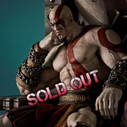 Kratos on Throne - God of War - 1/4 Scale Statue