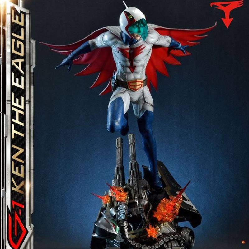 Ken the Eagle - Science Ninja Team Gatchaman - 1/4 Scale Polystone Statue