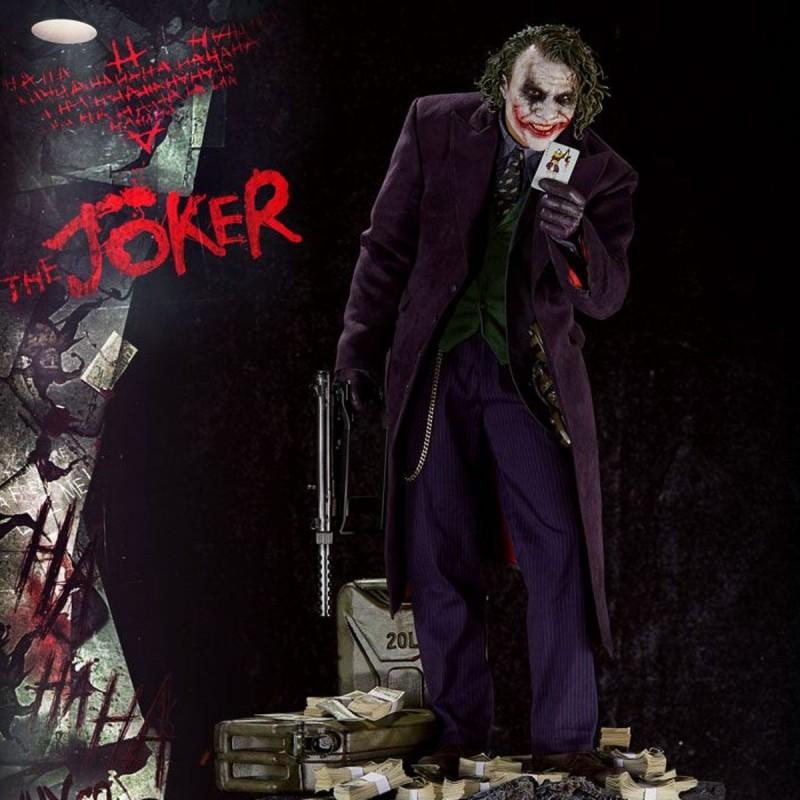 Joker (Bonus Version) - The Dark Knight - 1/3 Scale Statue