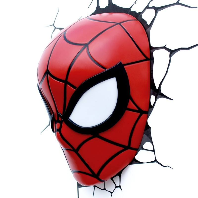 Spiderman - Spider-Man - 3D Deko Licht