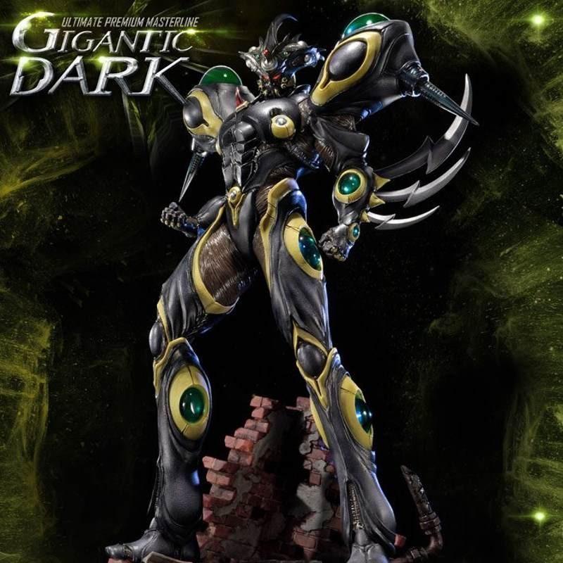 Gigantic Dark - Guyver The Bioboosted Armor - Polystone Statue