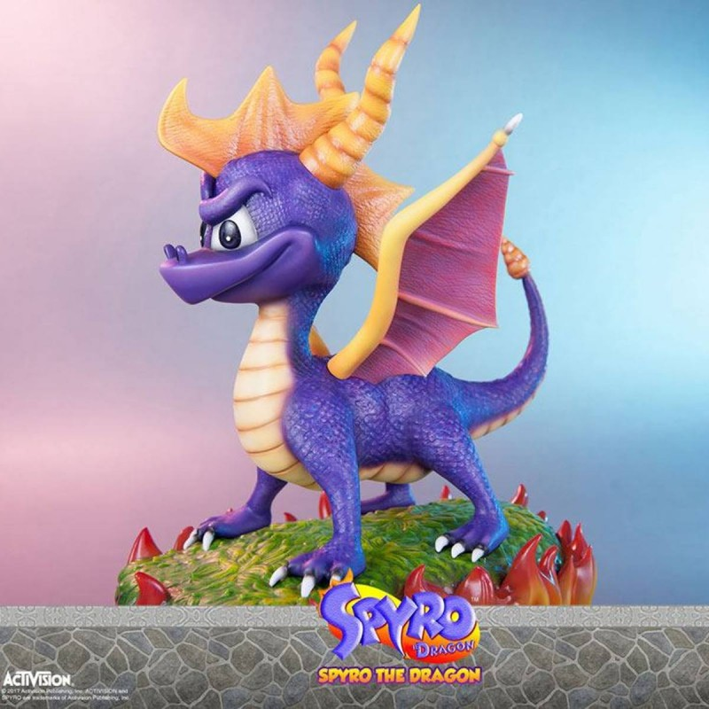 Spyro - Spyro the Dragon - Polystone Statue
