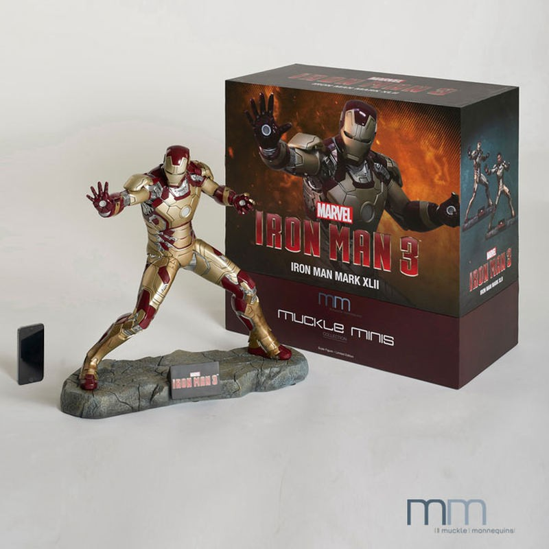 Iron Man Mark XLII - Iron Man 3 - Resin Statue