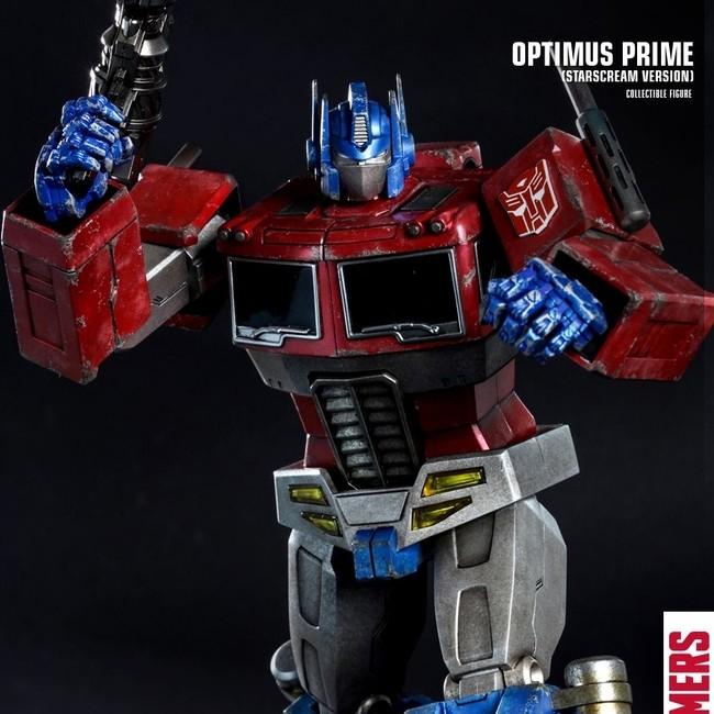 Optimus Prime (Starscream Version) - Transformers - Actionfigur