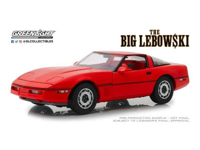 1985 Chevrolet Corvette C4 - The Big Lebowski - Diecast Modell 1/18