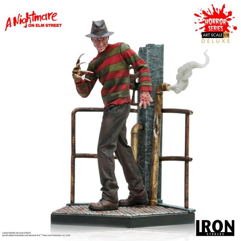 Freddy Krueger Deluxe - Nightmare on Elm Street - 1/10 Scale Statue