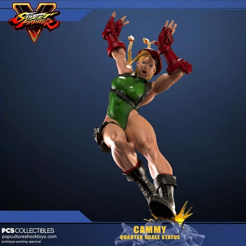 Cammy - Street Fighter - 1/4 Scale Statue