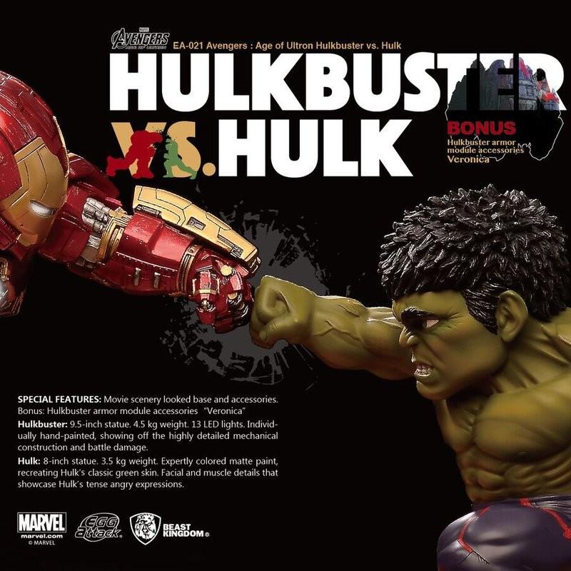 Hulkbuster vs. Hulk - Avengers - Egg Attack Dio