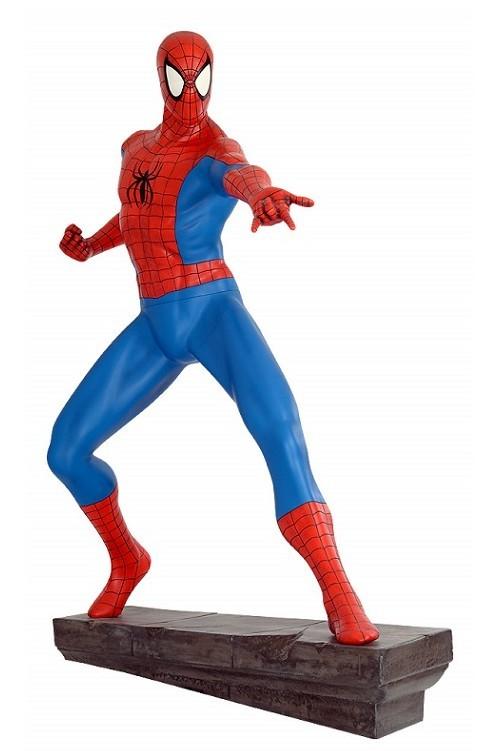 Spider-Man (mit Steinbase) - Spider-Man - Life-Size Statue