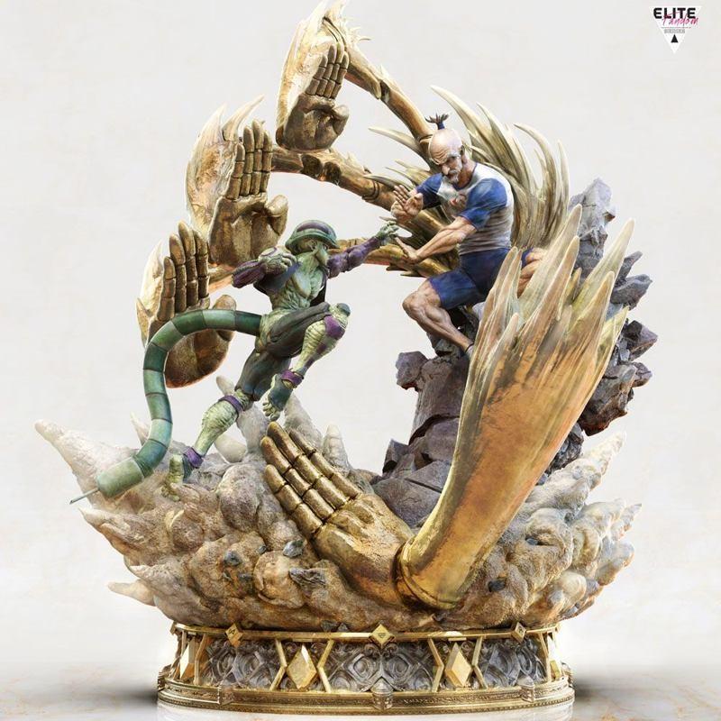 Netero vs Meruem - Hunter x Hunter - 1/6 Elite Fandom Diorama