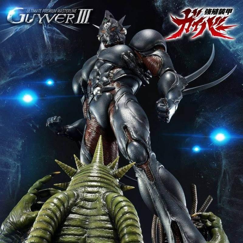 Guyver III - Guyver The Bioboosted Armor - Polystone Statue