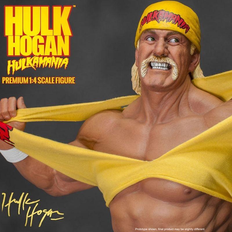 Hulk Hogan - WWE Wrestling - 1/4 Scale Statue