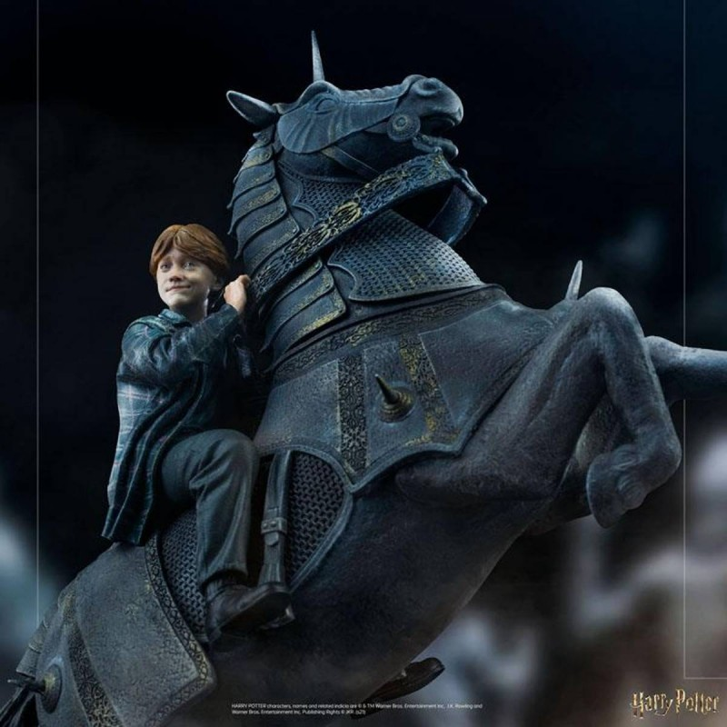 Ron Weasley at the Wizard Chess - Harry Potter - 1/10 Deluxe Art Scale Statue