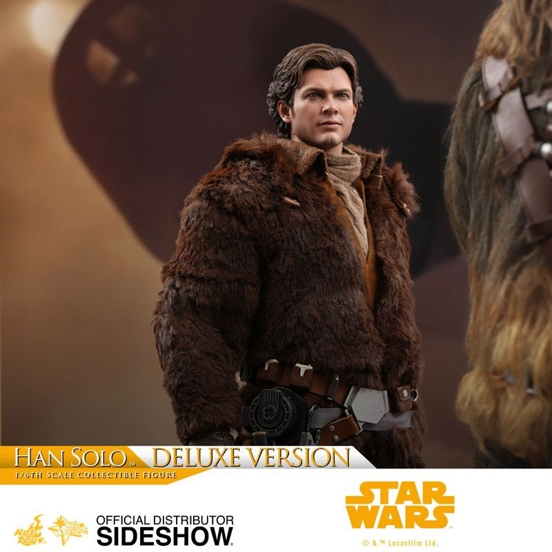 Han Solo Deluxe Version - Solo: A Star Wars Story - 1/6 Scale Figur