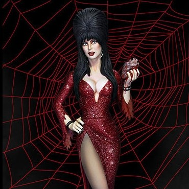 Elvira Mistress of the Dark - Maquette 36cm