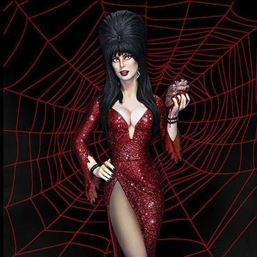 Elvira Mistress of the Dark - Maquette 36cm