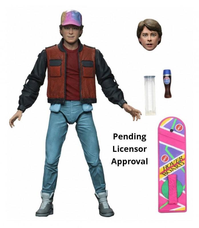 Marty McFly - Zurück in die Zukunft II - Ultimate Actionfigur 18cm