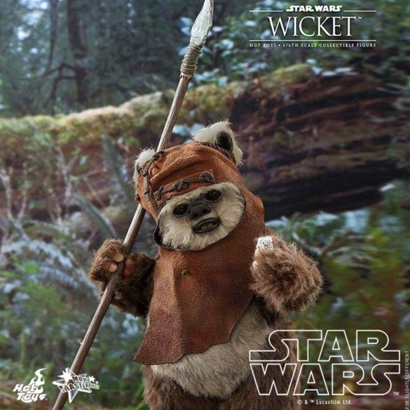 Wicket - Star Wars Episode VI - 1/6 Scale Figur
