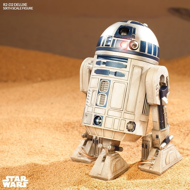 R2-D2 Deluxe - Star Wars - 1/6 Scale Figur