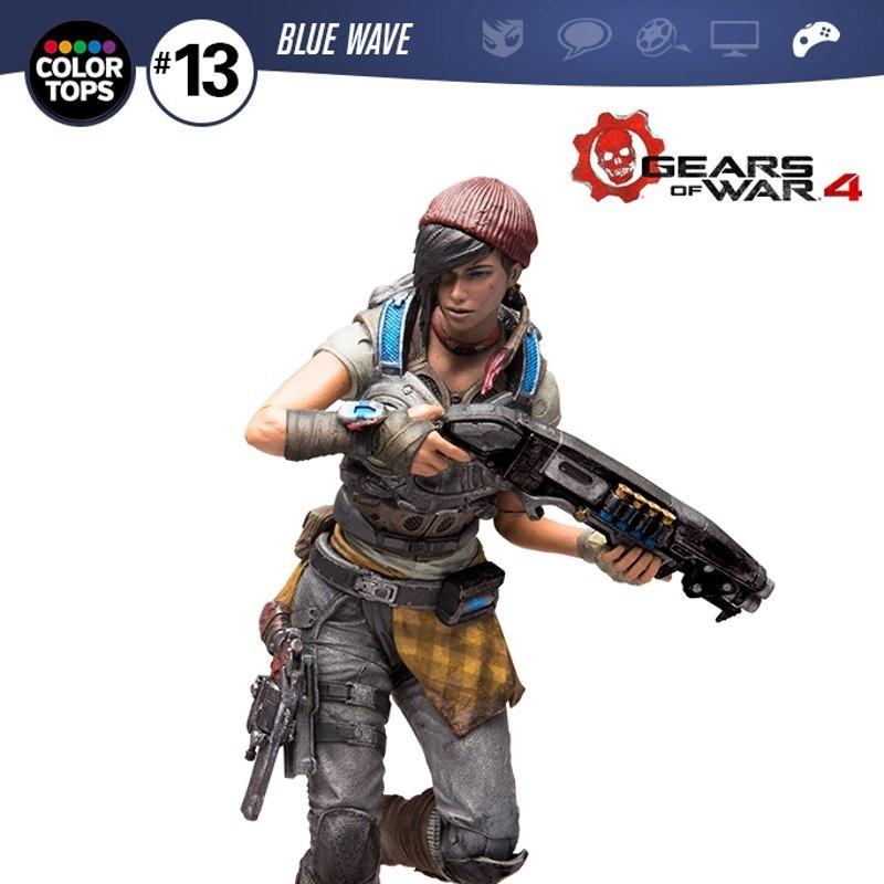 Kait Diaz - Gears of War 4 - Color Tops Actionfigur 18cm