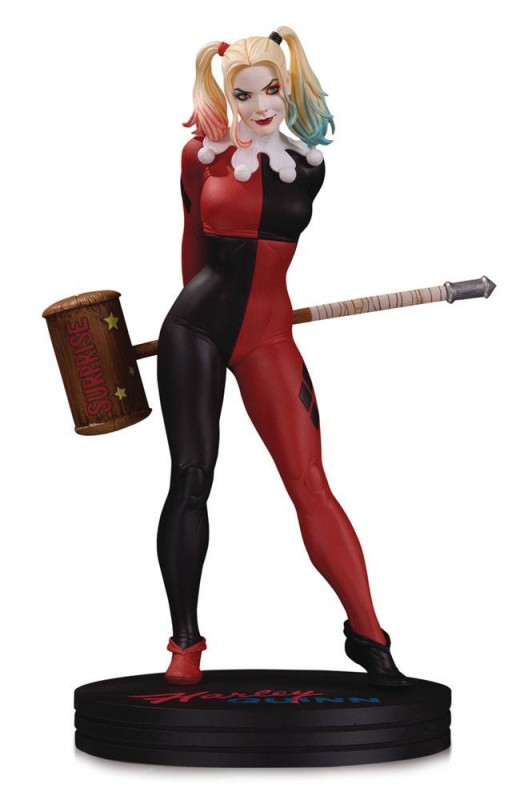 Harley Quinn by Frank Cho - DC Comics Cover Girls - Resin Statue