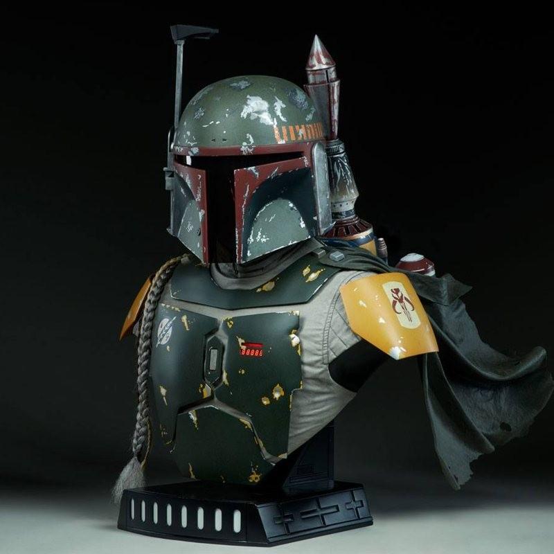 Boba Fett - Star Wars - Life-Size Büste