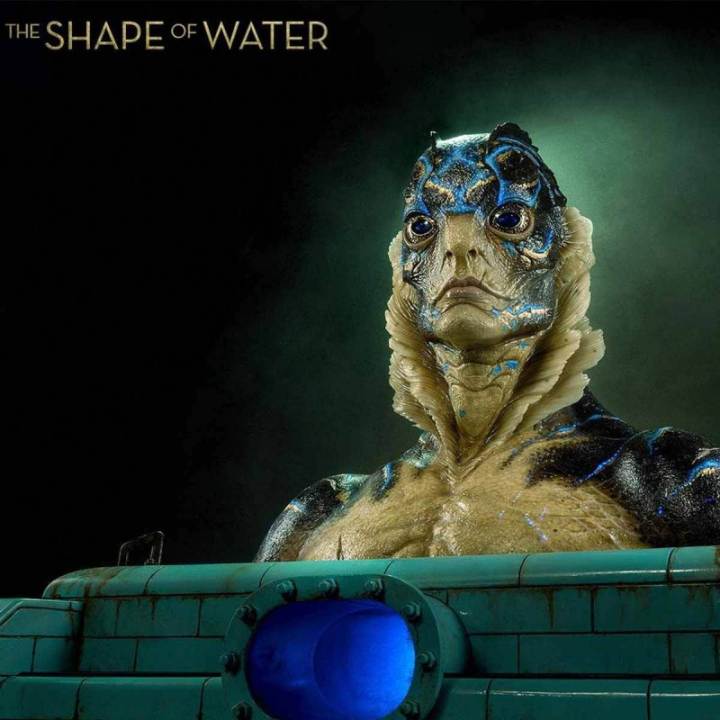 Amphibian Man - Shape of Water - Life Size Büste