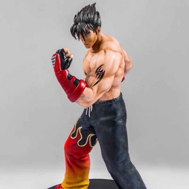 Jin Kazama - Tekken 3 - Polystone Statue