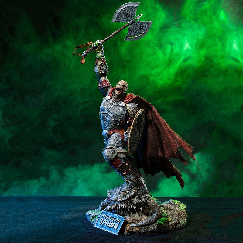Medieval Spawn Limited Edition - Resin Statue