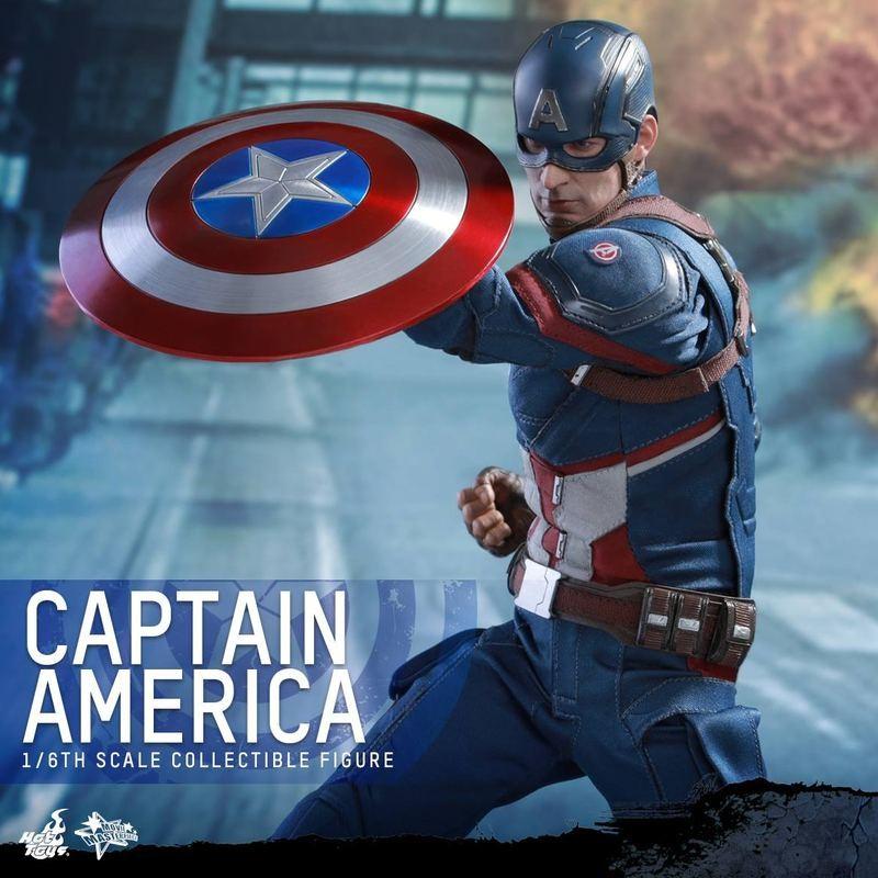 Captain America - Civil War - 1/6 Scale Action Figur
