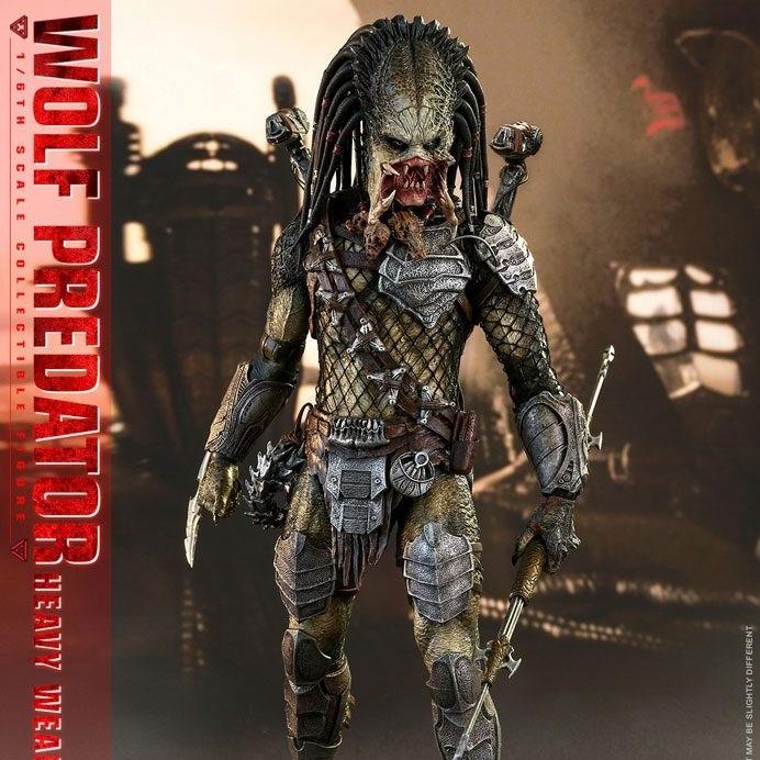 Wolf Predator (Heavy Weaponry) - Alien vs. Predator Requiem - 1/6 Scale Action Figur