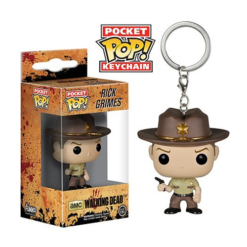 Rick Grimes - The Walking Dead - Pocket Pop! Keychain