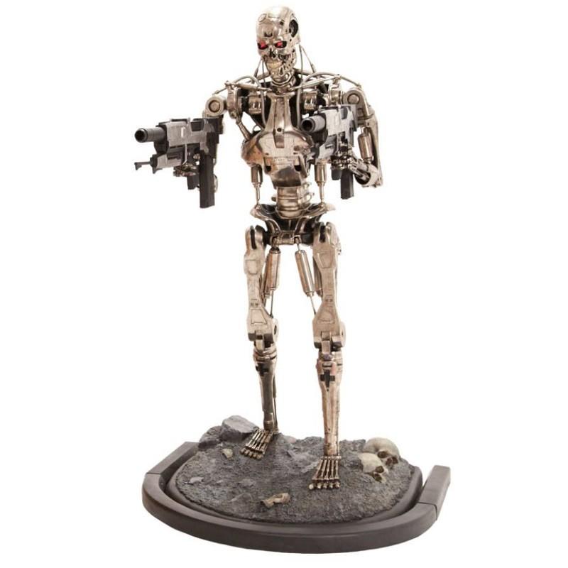 T-800 Endoskeleton Version 2 - Terminator 2 - Life-Size Statue