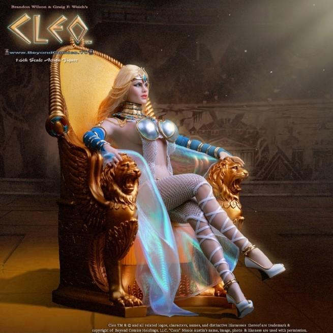 Cleo Super Deluxe Set - 1/6 Scale Actionfigur