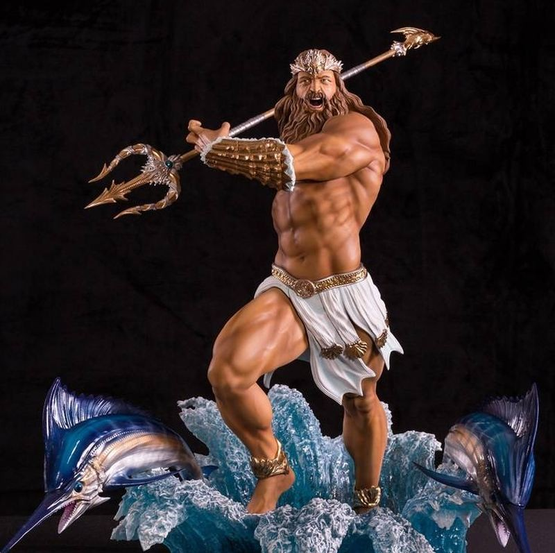 Poseidon Regular Version - 1/4 Scale Statue
