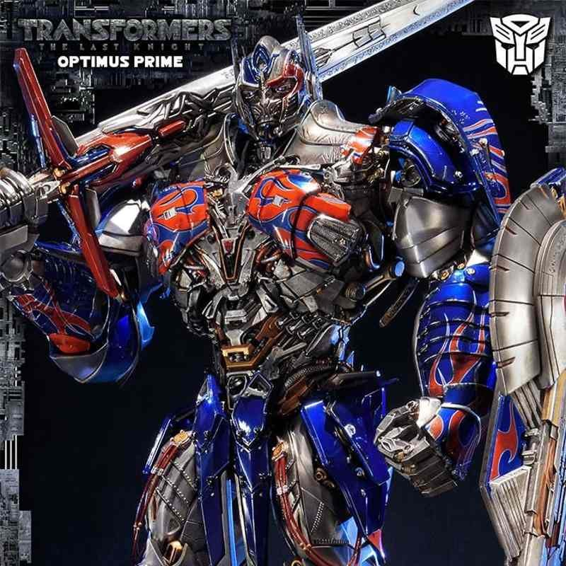 Optimus Prime - Transformers The Last Knight - Polystone Statue