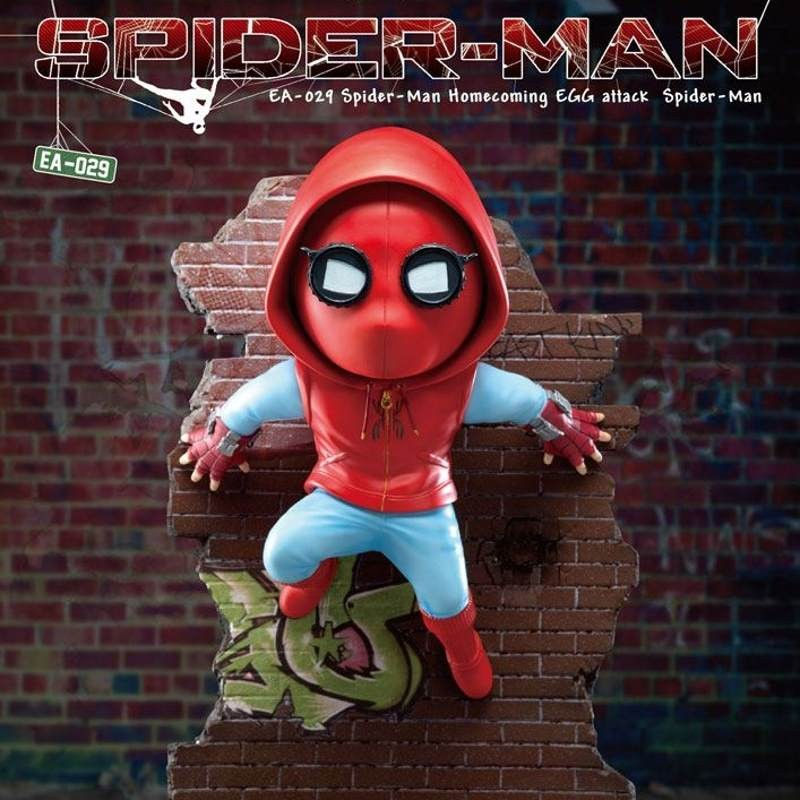 Spider-Man - Spider-Man Homecoming - Egg Attack Statue