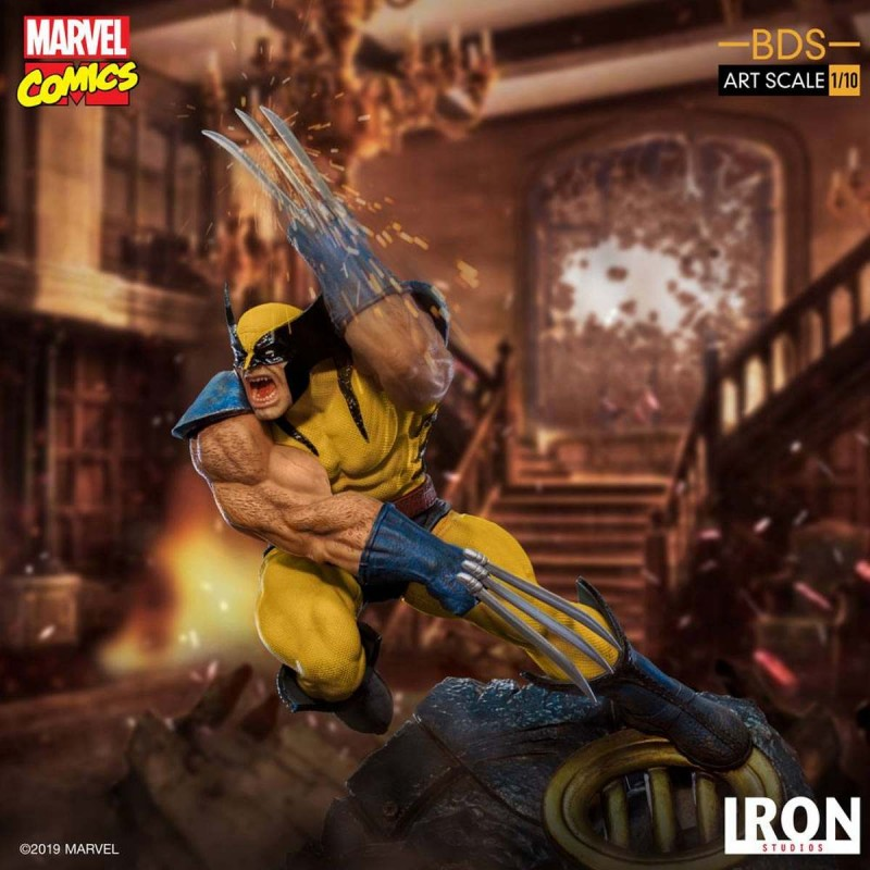 Wolverine - Marvel Comics - 1/10 BDS Art Scale Statue