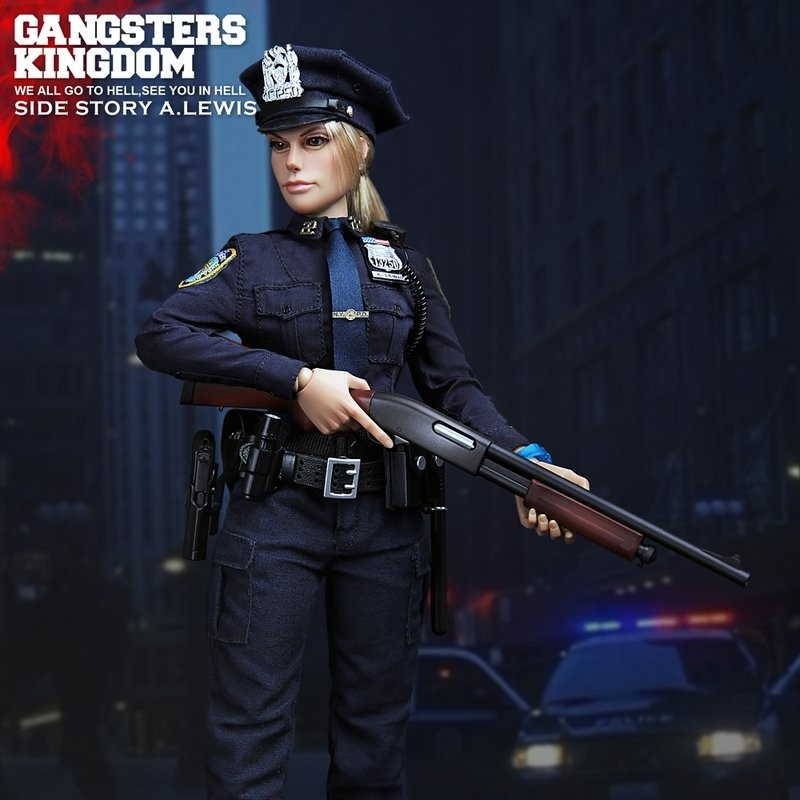Officer A. Lewis - Gangster's Kingdom (Side Story) - 1/6 Scale Actionfigur