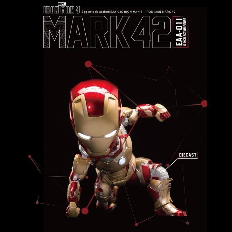 Mark XLII - Iron Man 3 - Egg Attack Actionfigur