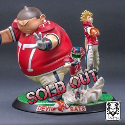 Devil Bats - Eyeshield 21 - 1/6 Scale Diorama HQ Statue