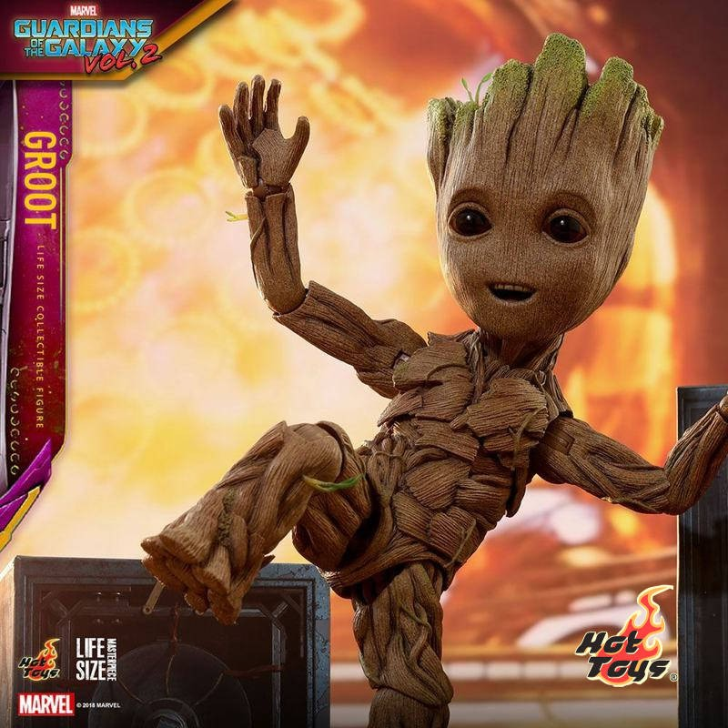 Groot Slim Version - Guardians of the Galaxy Vol. 2 - Life-Size Collectible Figur