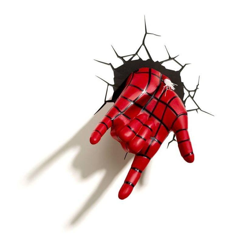 Spider-Man Hand - Spider-Man - 3D Deko Licht