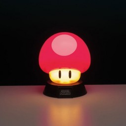 Power-Up Pilz - Super Mario 3D - Lampe